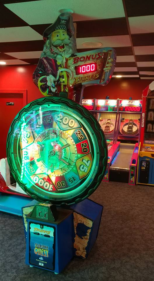 Treasure Quest Arcade in Middletown OH | Eastern Lanes