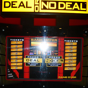Deal Or No Deal Arcade in Middletown OH | Eastern Lanes